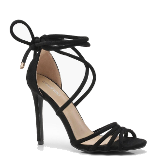Cage Front Wrap Strap Heels