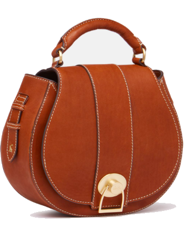 LANGTON SADDLE LEATHER CROSS BODY PURSE