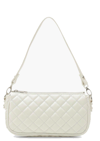 Diamond Quilted PU Under Arm Bag