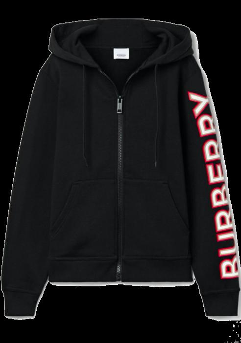 Appliquéd cotton-jersey hoodie