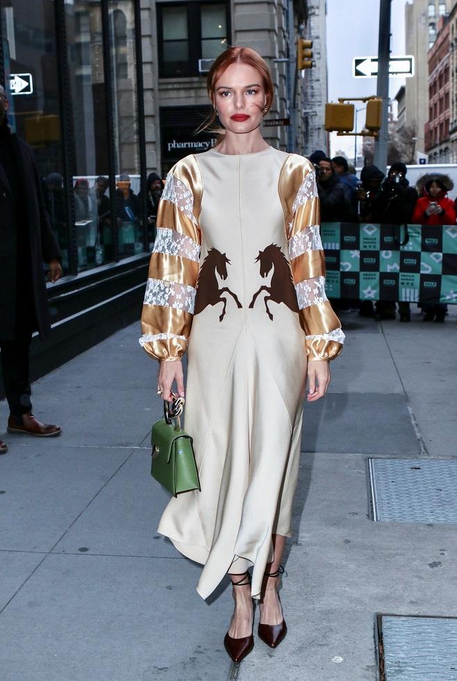 Kate Bosworth in Chloe dress