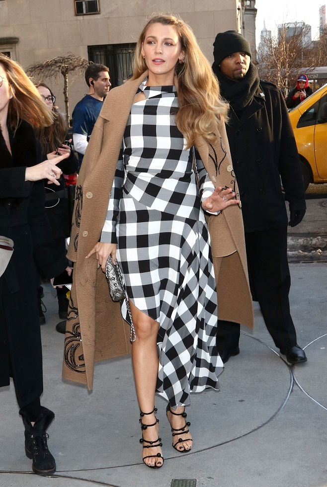 Blake Lively in casual stylization