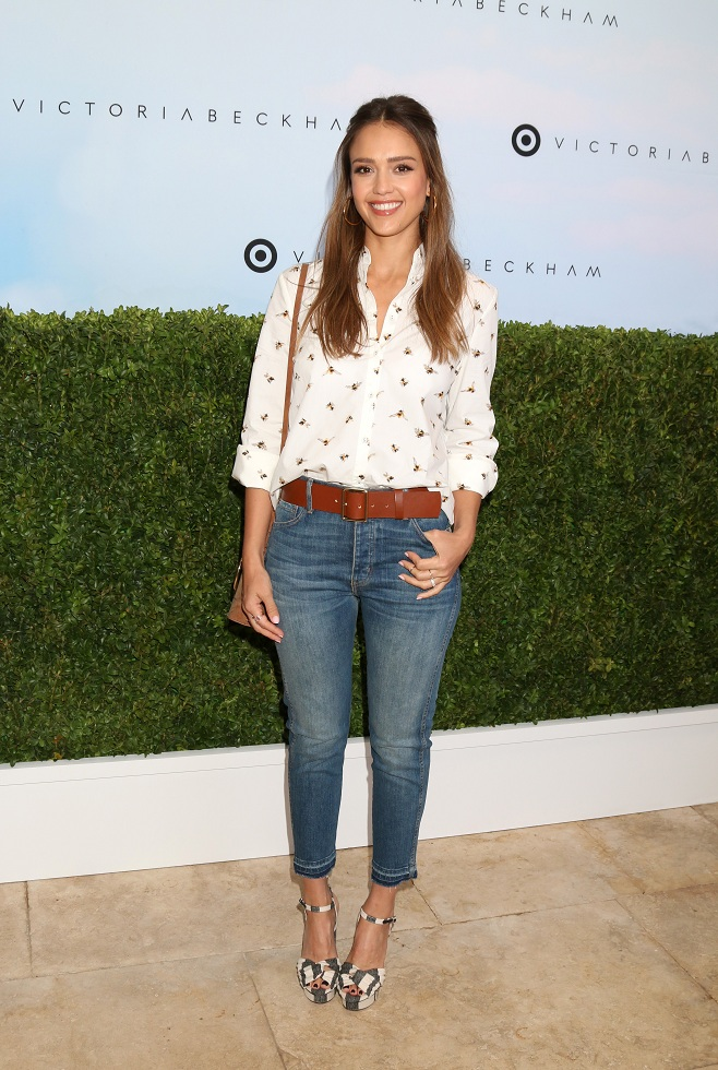 Jessica Alba in casual look