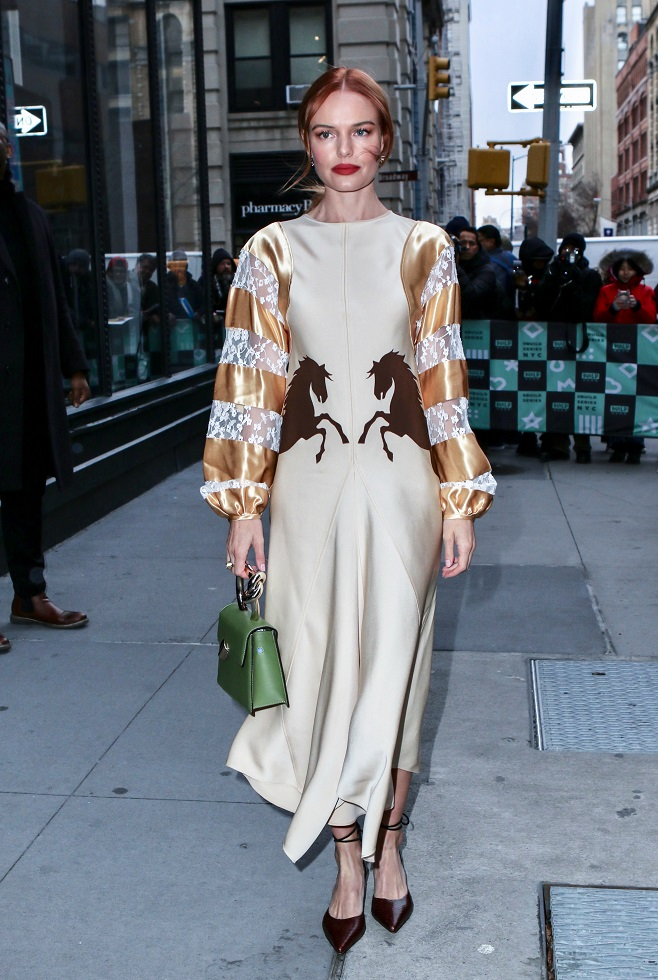 Kate Bosworth in coctail dress