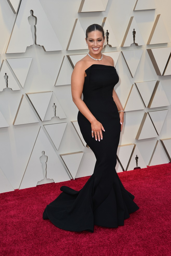 Ashley Graham on the red carpet