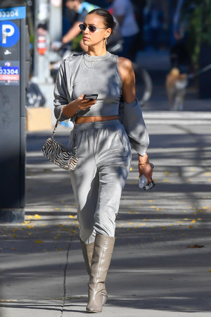 Supermodel in New York