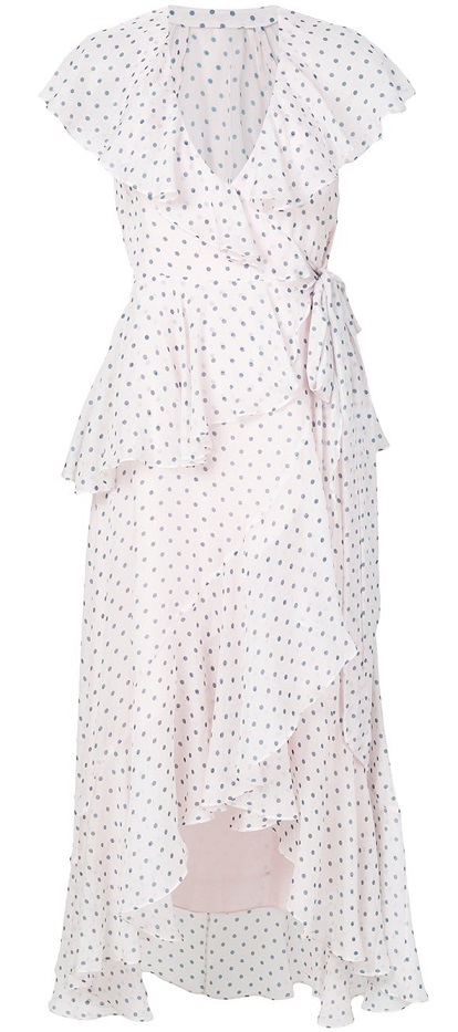 TEMPERLEY LONDON polka dot dress
