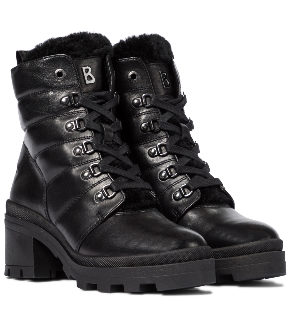 Belgrade leather ankle boots