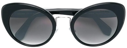MIU MIU EYEWEAR cat-eye frame sunglasses