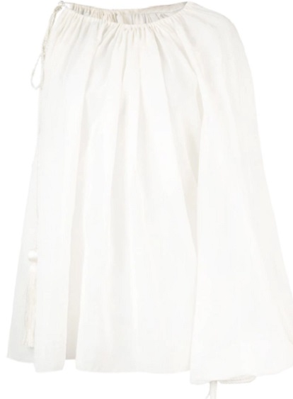 OSCAR DE LA RENTA one shoulder top