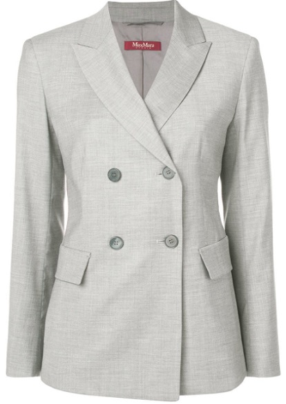 MAX MARA STUDIO double breasted jacket