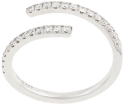 ALINKA 18kt white gold ECLIPSE diamond ring
