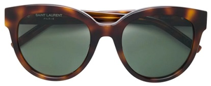 SAINT LAURENT EYEWEAR round shaped sunglasses