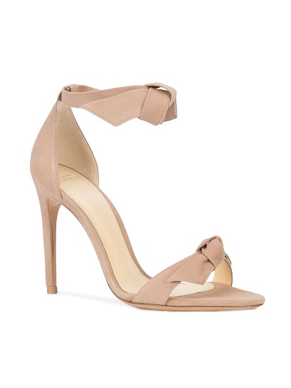 ALEXANDRE BIRMAN bow strap heeled sandals