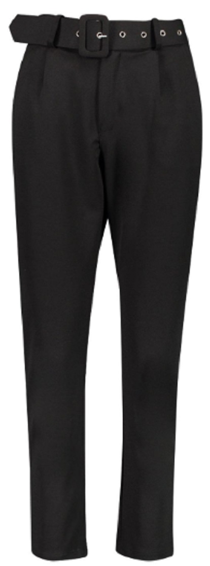 Tall Self Belt Tailored Trouser