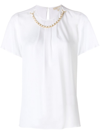 MICHAEL MICHAEL KORS ruffled blouse