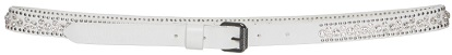 Click Product to Zoom Off-White C/O Virgil Abloh Studded Leather Skinny Belt