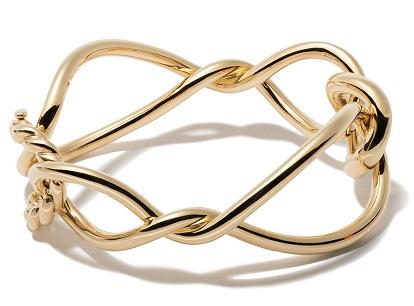 DAVID YURMAN 18kt yellow gold Continuance bold bangle