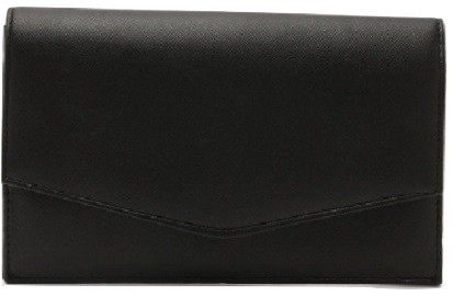 Crosshatch Envelope Clutch & Chain