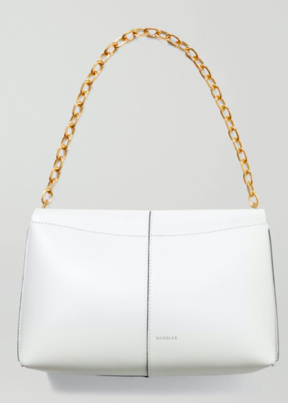 Carly mini leather shoulder bag