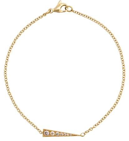 DAOU 18kt gold Spark diamond bracelet