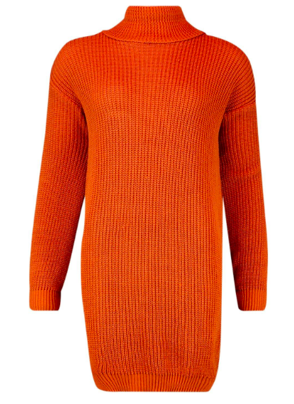 Petite Turtleneck Sweater Dress