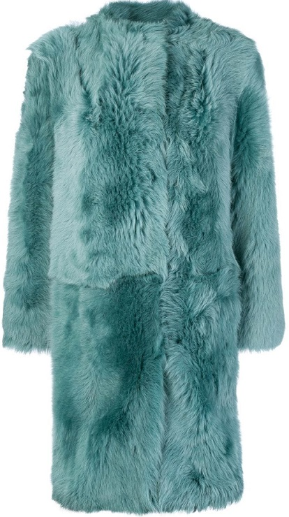 DESA 1972 oversized fur coat