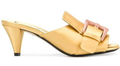 Nº21 buckle open toe sandals