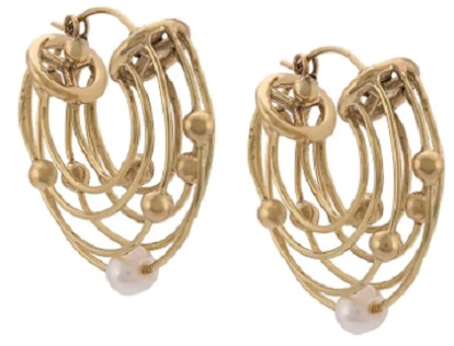 ELLERY Classical Scaffolding earrings