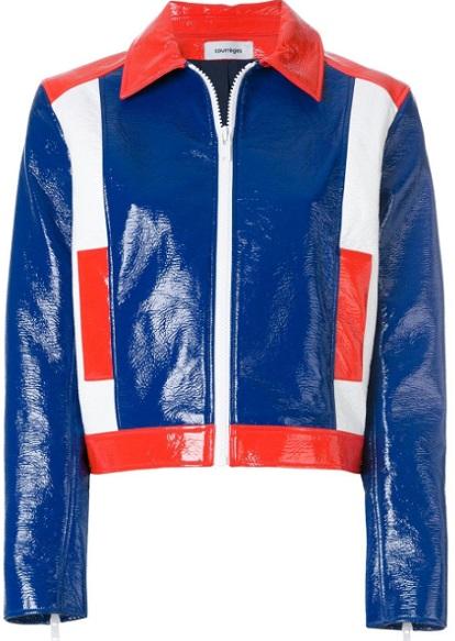 COURRÈGES colour block jacket