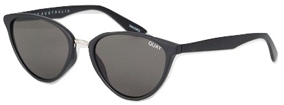 Quay Australia Rumours cat eye sunglasses in black