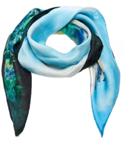 Click Product to Zoom Ellery Rhone Printed Scarf