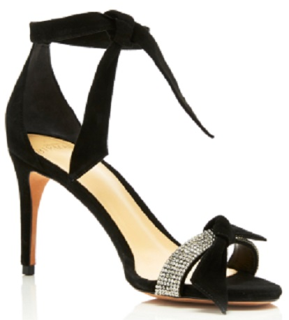 Click Product to Zoom Alexandre Birman Clarita Crystal And Bow-Embellished Suede Sandals