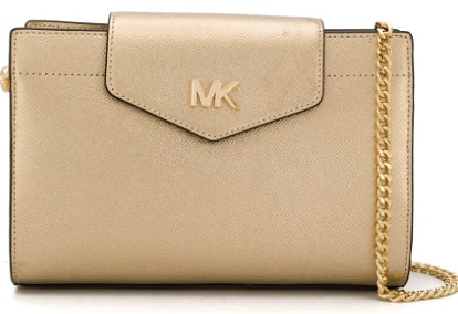MICHAEL MICHAEL KORS foldover top crossbody bag