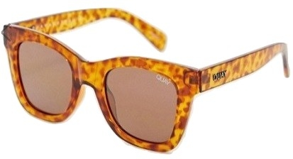 Quay Australia After Hours square sunglasses in tort