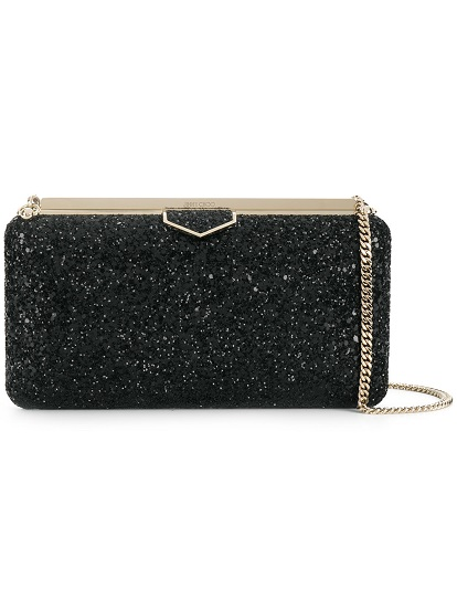 JIMMY CHOO Ellipse clutch bag