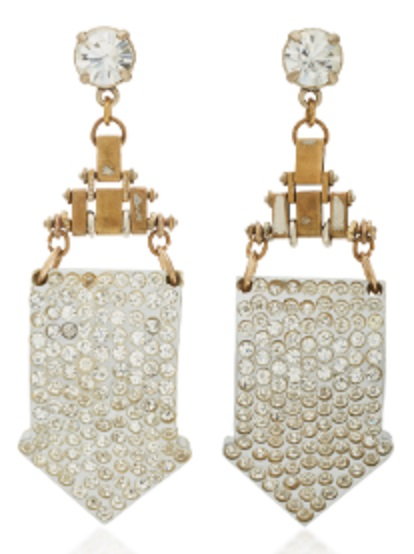 Click Product to Zoom Lulu Frost Gold-Plated Crystal Earrings