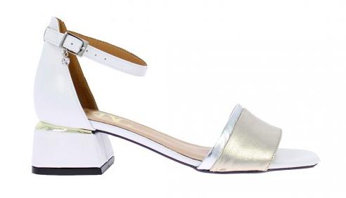 Białe sandały STAGÓRS