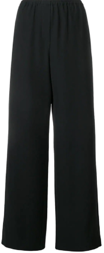EMPORIO ARMANI wide leg trousers