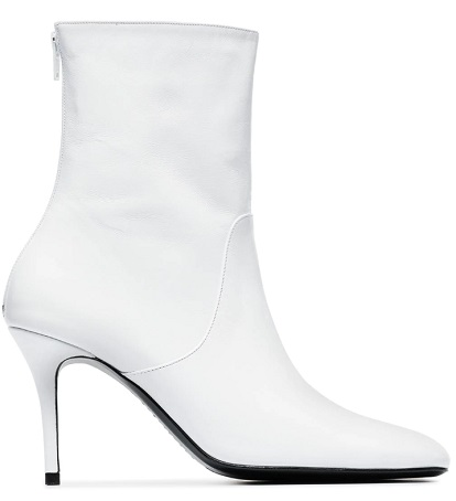 DORATEYMUR White Town & Country 90 Leather Boots