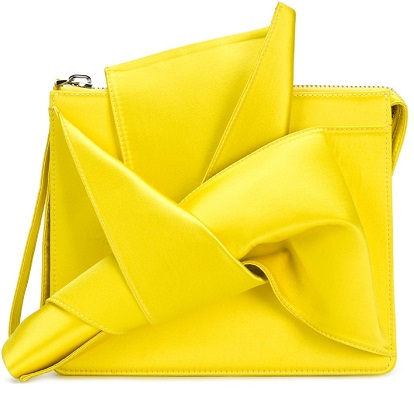 Nº21 Iconic bow clutch