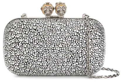 ALEXANDER MCQUEEN King Queen box clutch