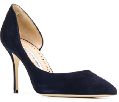 MANOLO BLAHNIK BB classy pointed toe pumps