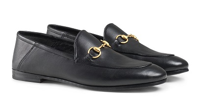 GUCCI Brixton Horsebit loafers