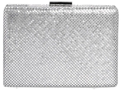 Chainmail Box Clutch Bag