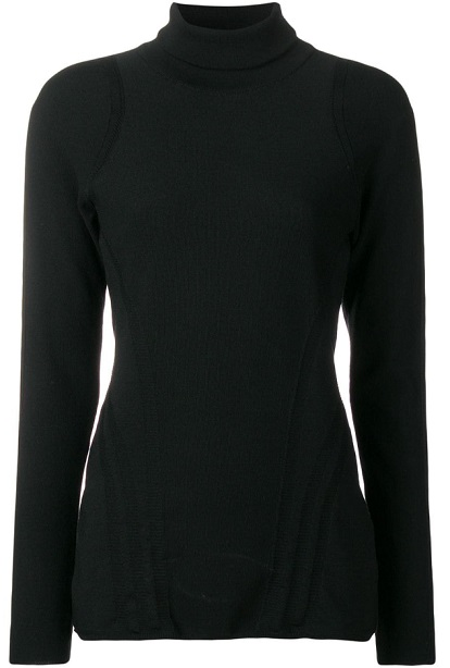 Y-3 turtleneck jumper