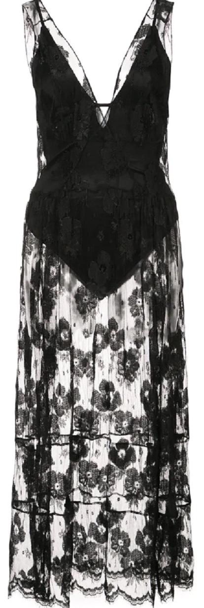 FLEUR DU MAL poppy lace dress